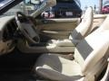1998 Jaguar XK Cashmere Interior Front Seat Photo