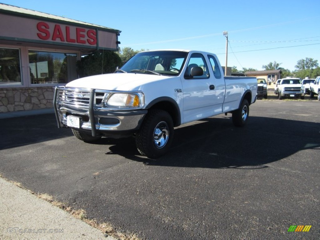 1997 oxford white ford f150 xl extended cab 4x4 85961910. Black Bedroom Furniture Sets. Home Design Ideas