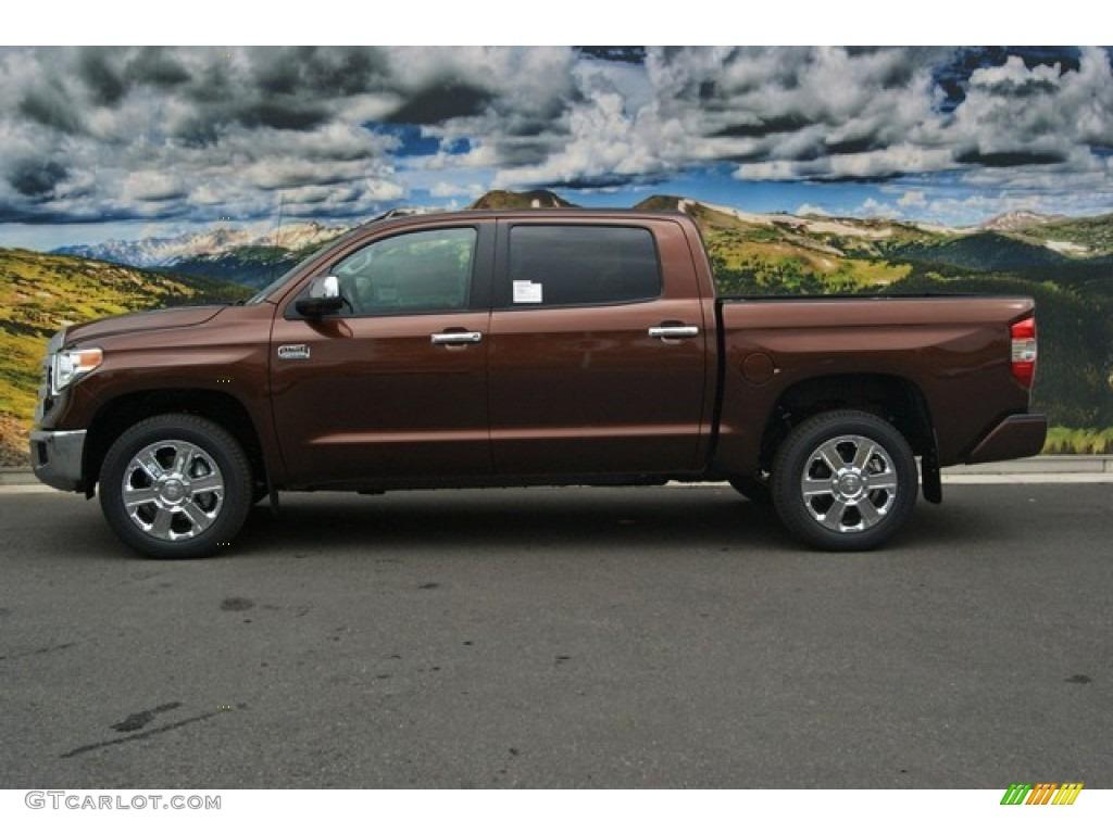 2014 Tundra 1794 Edition Crewmax 4x4 - Sunset Bronze Mica / 1794 Edition Premium Brown photo #6