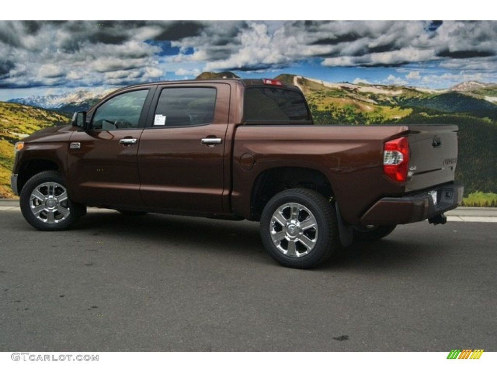 2014 Tundra 1794 Edition Crewmax 4x4 - Sunset Bronze Mica / 1794 Edition Premium Brown photo #7