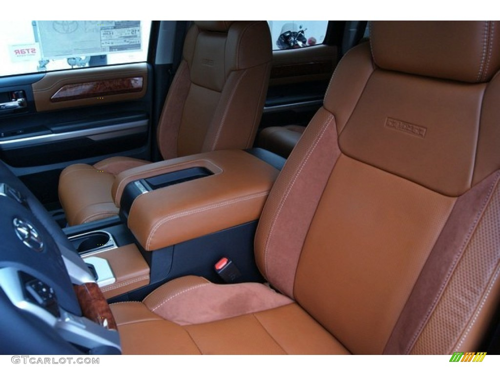2014 Tundra 1794 Edition Crewmax 4x4 - Sunset Bronze Mica / 1794 Edition Premium Brown photo #11