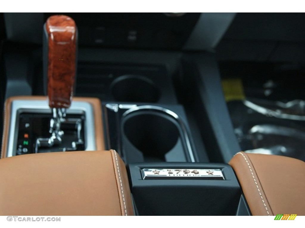 2014 Tundra 1794 Edition Crewmax 4x4 - Sunset Bronze Mica / 1794 Edition Premium Brown photo #17