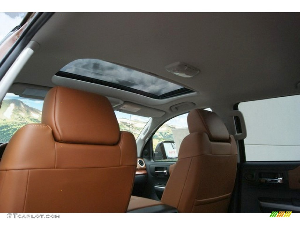 2014 Tundra 1794 Edition Crewmax 4x4 - Sunset Bronze Mica / 1794 Edition Premium Brown photo #20