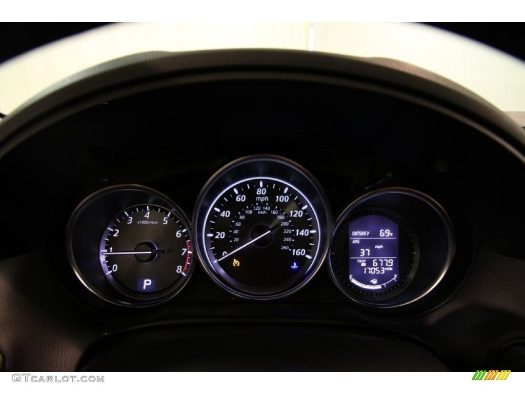 Mazda Cx 5 Color Code >> 2013 Mazda CX-5 Touring AWD Gauges Photo #86006517 | GTCarLot.com