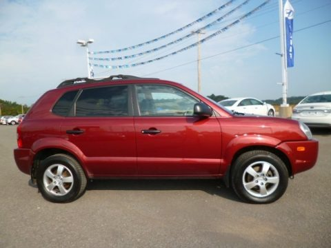 2006 hyundai tucson gl 4x4 data info and specs. Black Bedroom Furniture Sets. Home Design Ideas