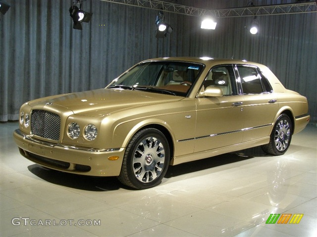 2005 antique gold bentley arnage r 85615 gtcarlotcom