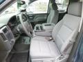 Jet Black/Dark Ash Front Seat Photo for 2014 Chevrolet Silverado 1500 #86024318
