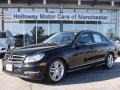 Black 2014 Mercedes-Benz C 300 4Matic Sport