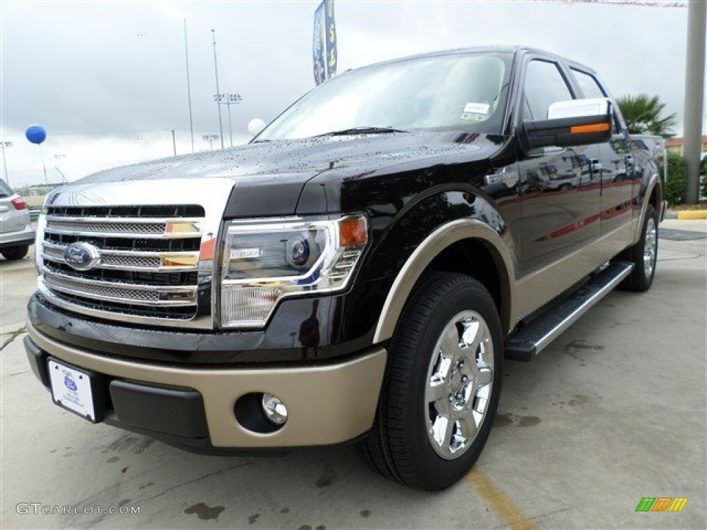 2013 kodiak brown metallic ford f150 king ranch supercrew 86008135 car color. Black Bedroom Furniture Sets. Home Design Ideas