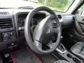 Ebony/Pewter Steering Wheel Photo for 2009 Hummer H3 #86040207