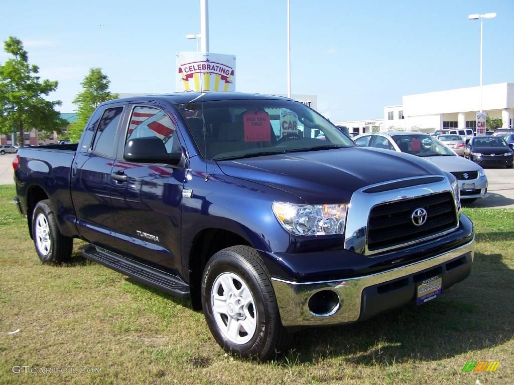 2009 nautical blue metallic toyota tundra sr5 double cab. Black Bedroom Furniture Sets. Home Design Ideas