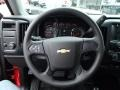 Jet Black/Dark Ash Steering Wheel Photo for 2014 Chevrolet Silverado 1500 #86050719