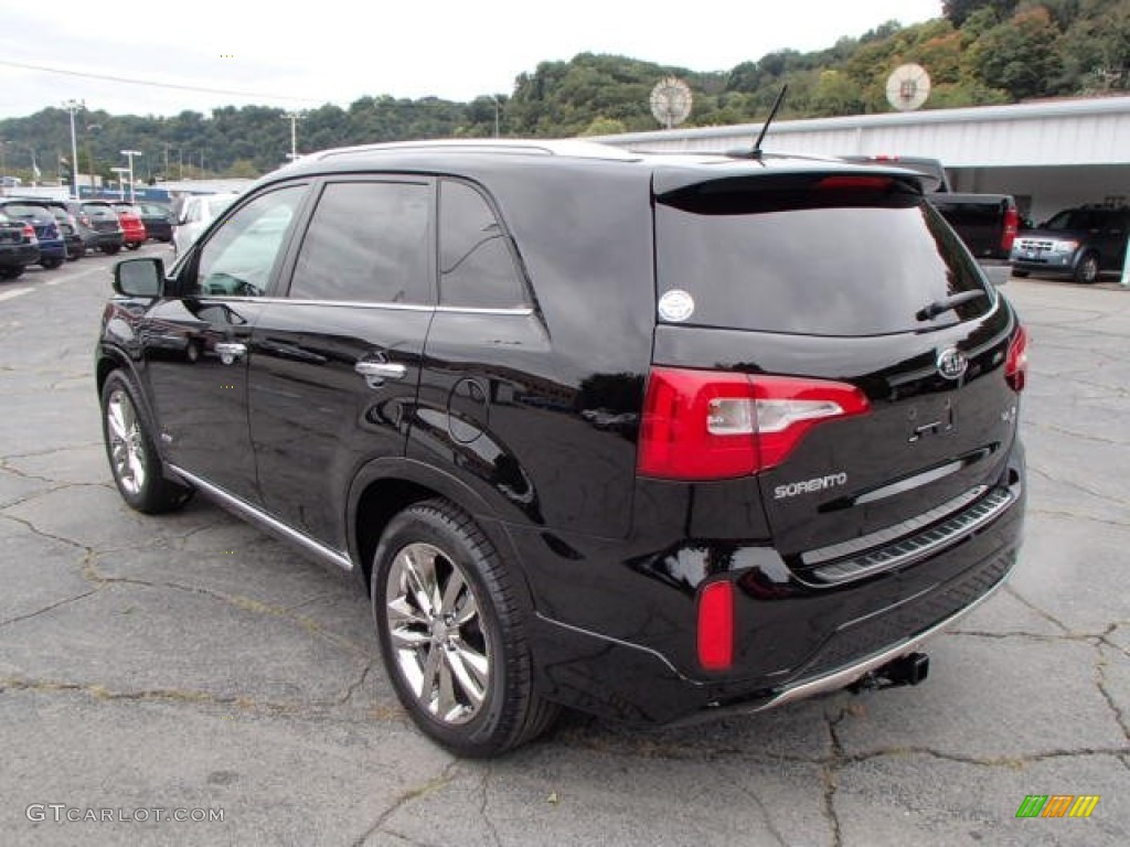 Ebony Black 2014 Kia Sorento SX V6 AWD Exterior Photo #86050923