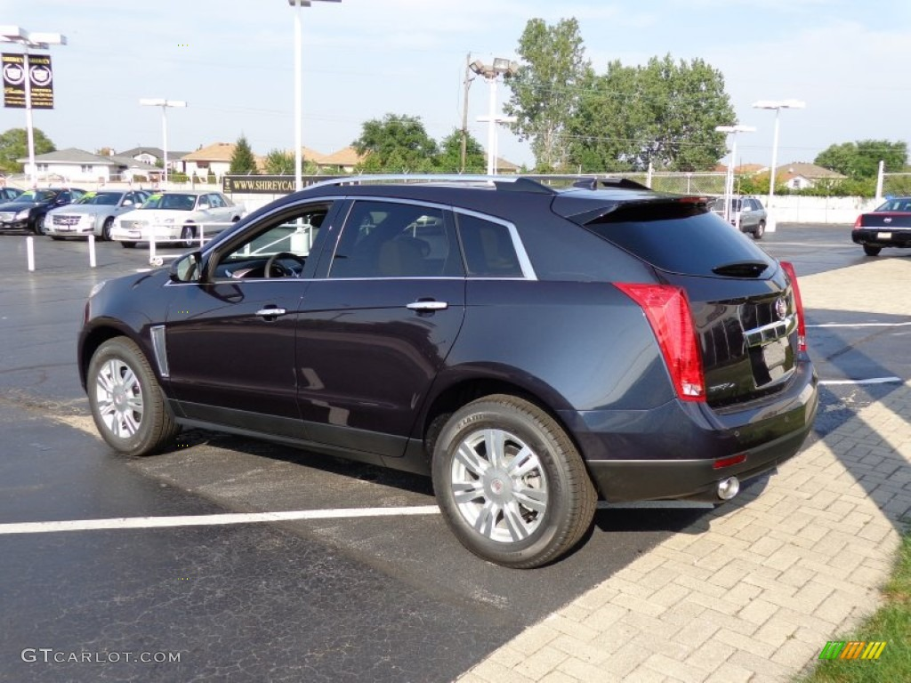 sapphire blue metallic 2014 cadillac srx luxury awd. Black Bedroom Furniture Sets. Home Design Ideas