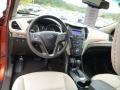 Beige Prime Interior Photo for 2013 Hyundai Santa Fe #86066622
