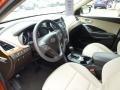 Beige Prime Interior Photo for 2013 Hyundai Santa Fe #86066649