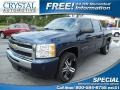 2011 Imperial Blue Metallic Chevrolet Silverado 1500 LT Crew Cab  photo #1