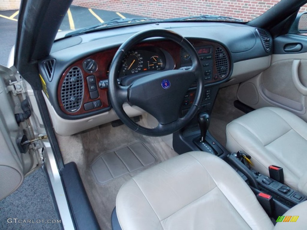 Saab 1997 saab 900 : Beige Interior 1997 Saab 900 SE Turbo Convertible Photo #86086738 ...