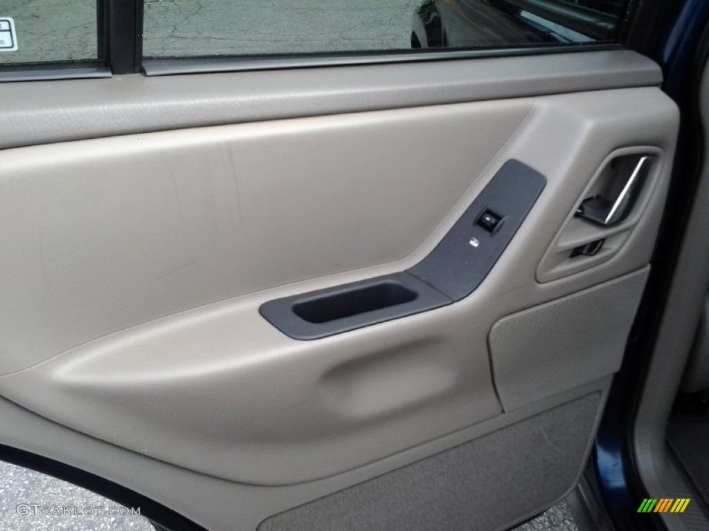 2000 Jeep Grand Cherokee Laredo 4x4 Camel Door Panel Photo 86088400