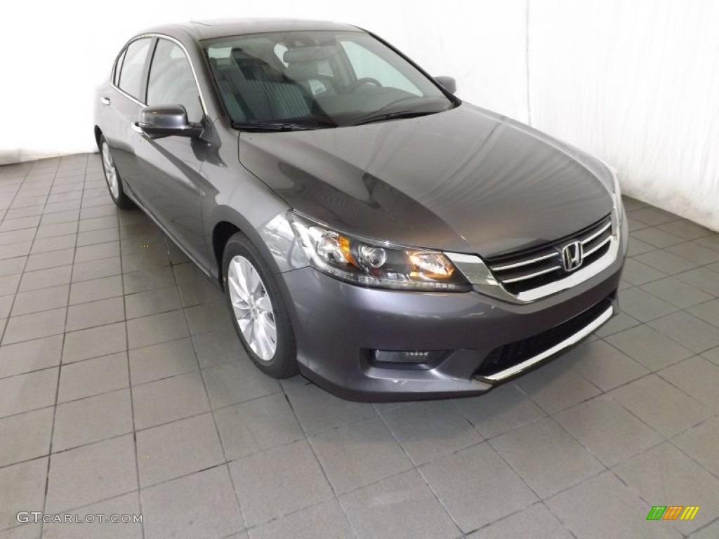 2014 Honda Accord EX-L Sedan - Modern Steel Metallic Color / Gray ...