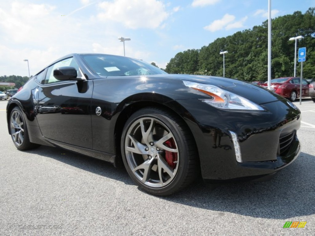 Magnetic Black 2014 Nissan 370Z Sport Touring Coupe ...