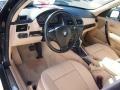 2008 BMW X3 Beige Interior Interior Photo