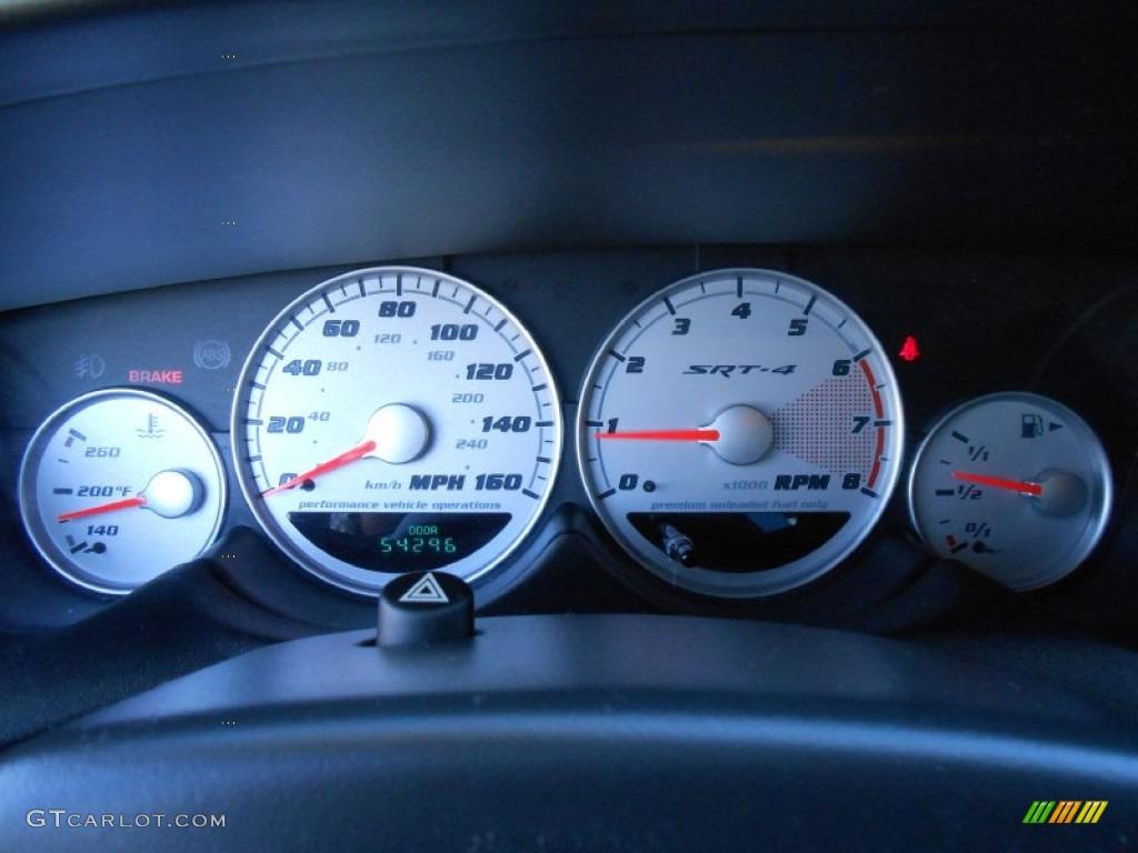 2005 Dodge Neon SRT-4 Gauges Photos | GTCarLot.com
