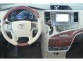 Dashboard of 2014 Sienna Limited AWD