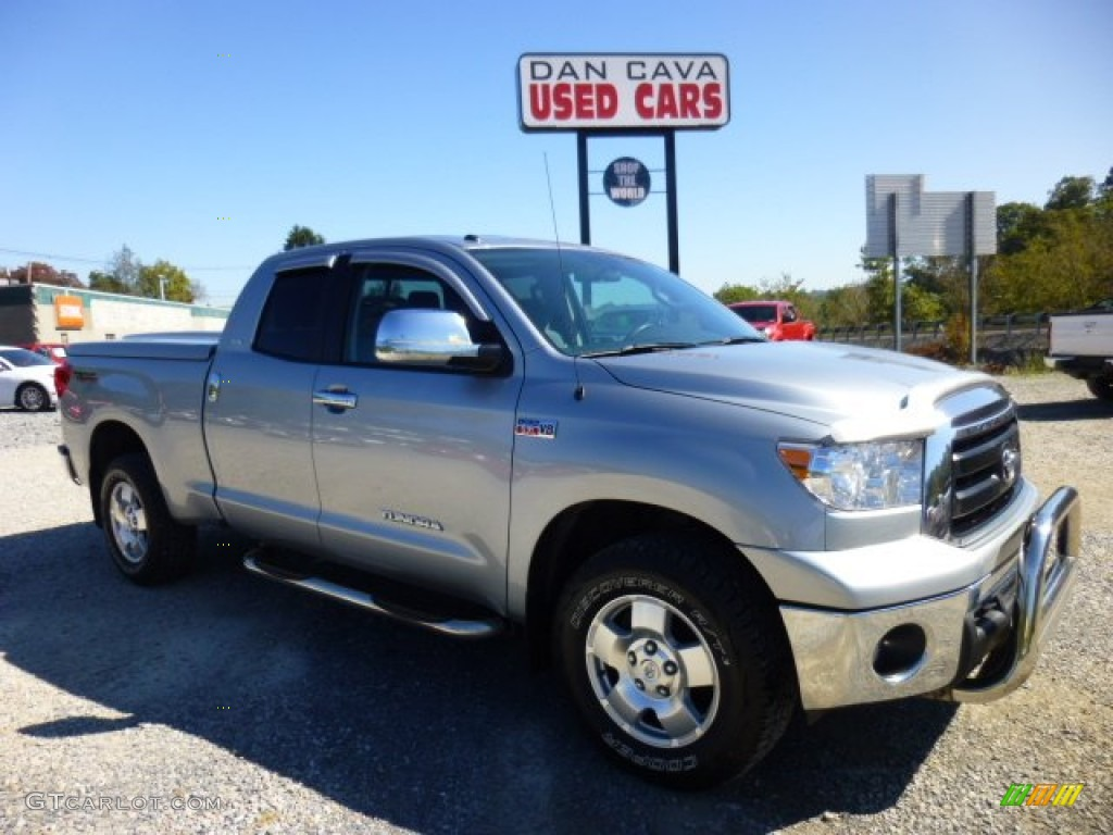 2011 Tundra TRD Double Cab 4x4 - Silver Sky Metallic / Graphite Gray photo #1