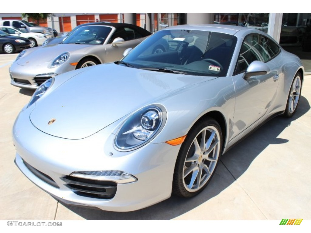 Rhodium Silver Metallic 2014 Porsche 911 Carrera 4 Coupe Exterior Photo 86125977 Gtcarlot Com