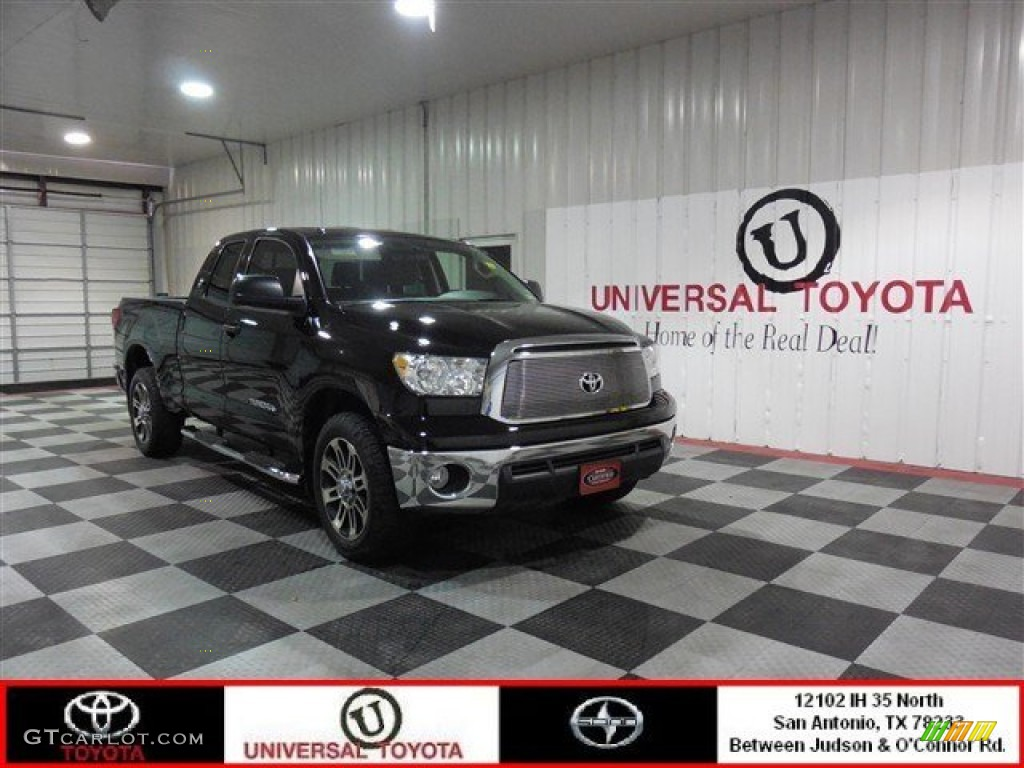 2013 Tundra Texas Edition Double Cab - Black / Graphite photo #1