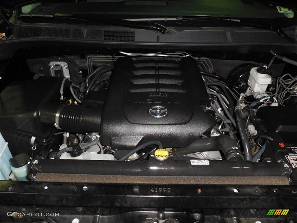 2013 Tundra Texas Edition Double Cab - Black / Graphite photo #21