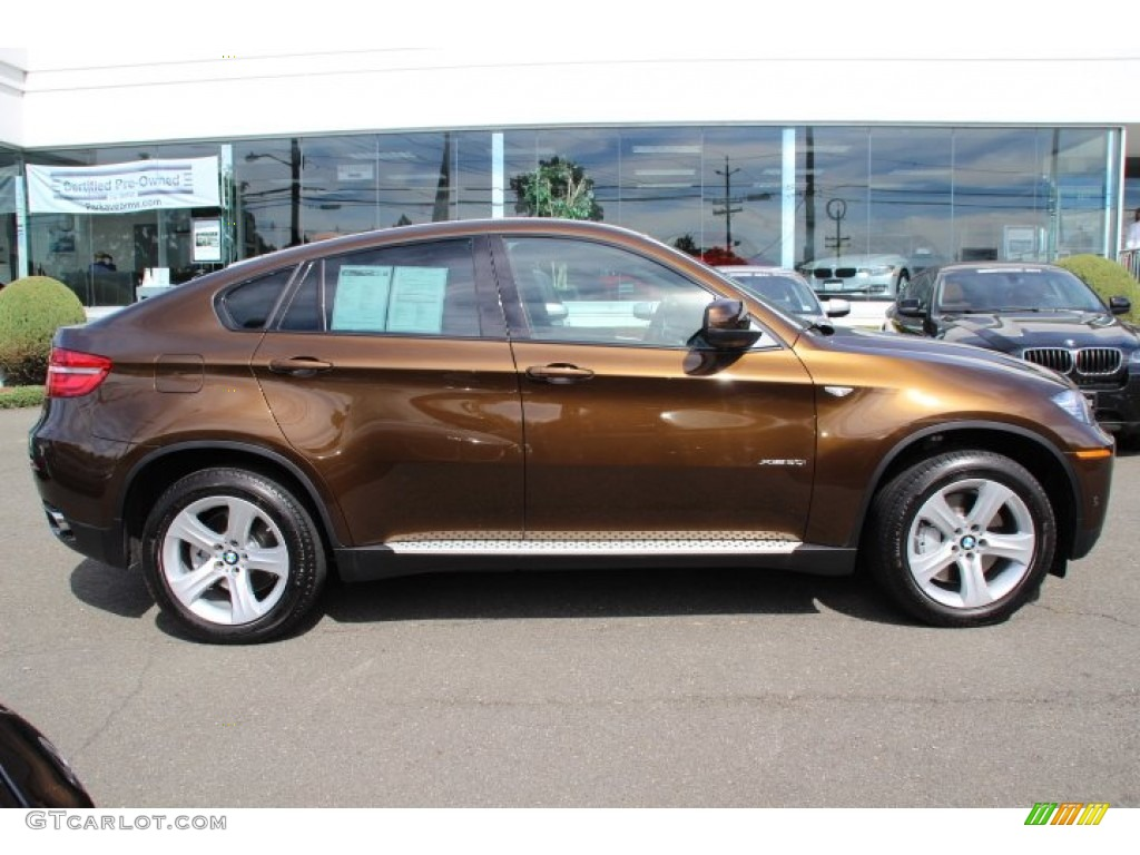 Marrakesh Brown Metallic 2013 Bmw X6 Xdrive50i Exterior