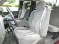 Front Seat of 2003 Silverado 1500 LS Extended Cab