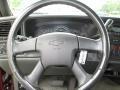 2003 Chevrolet Silverado 1500 Medium Gray Interior Steering Wheel Photo