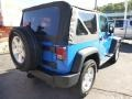 2011 Cosmos Blue Jeep Wrangler Sport S 4x4  photo #5