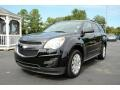 Black 2011 Chevrolet Equinox LT