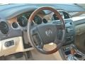 Cashmere/Cocoa Steering Wheel Photo for 2011 Buick Enclave #86177630