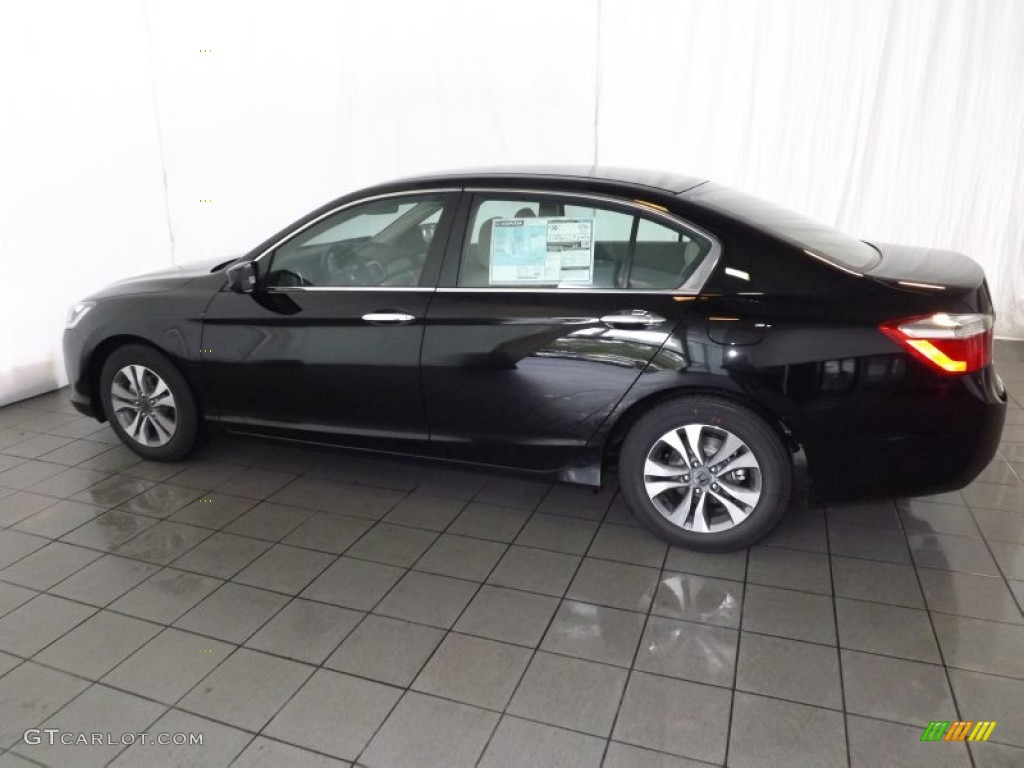 2014 crystal black pearl honda accord lx sedan 86158154 for 2014 honda accord black