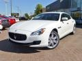 Bianco (White) 2014 Maserati Quattroporte GTS