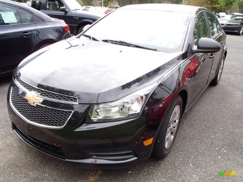 Black Granite Metallic 2014 Chevrolet Cruze Ls Exterior Photo 86211332