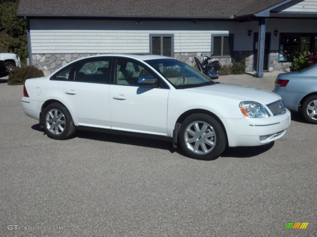 oxford white 2006 ford five hundred limited awd exterior. Black Bedroom Furniture Sets. Home Design Ideas