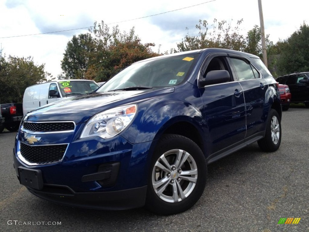 Navy Blue Metallic Chevrolet Equinox