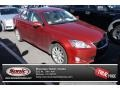 Matador Red Mica 2009 Lexus IS 250 AWD