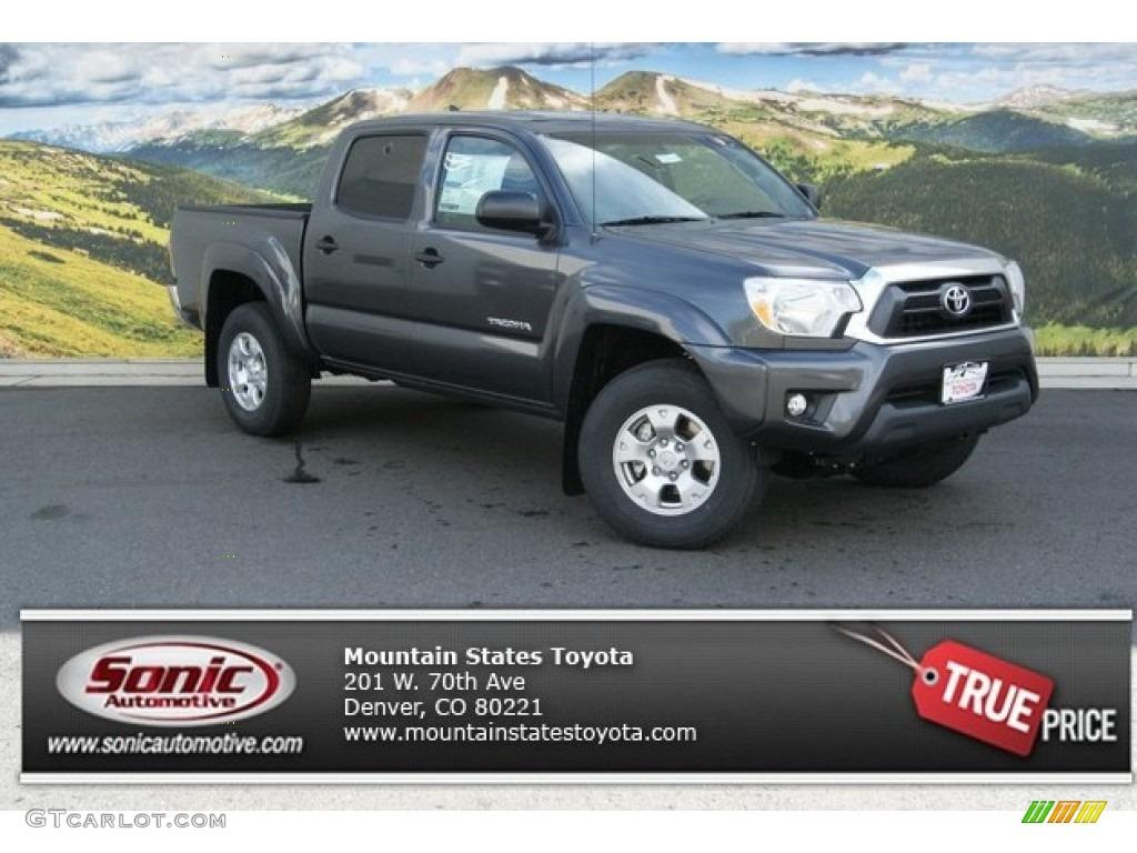 Magnetic Gray Metallic Toyota Tacoma