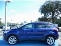2014 Deep Impact Blue Ford Escape Titanium 2.0L EcoBoost  photo #2
