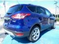 2014 Deep Impact Blue Ford Escape Titanium 2.0L EcoBoost  photo #3