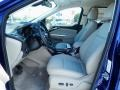 2014 Deep Impact Blue Ford Escape Titanium 2.0L EcoBoost  photo #6