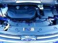 2014 Deep Impact Blue Ford Escape Titanium 2.0L EcoBoost  photo #11