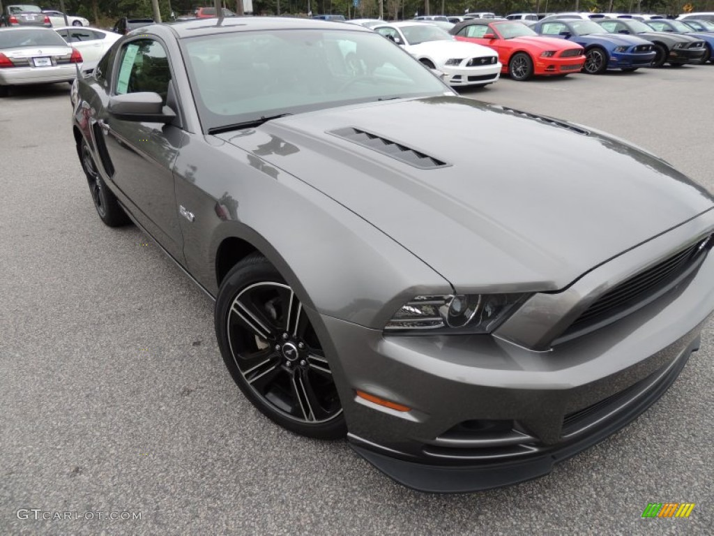 Sterling Gray Metallic Ford Mustang
